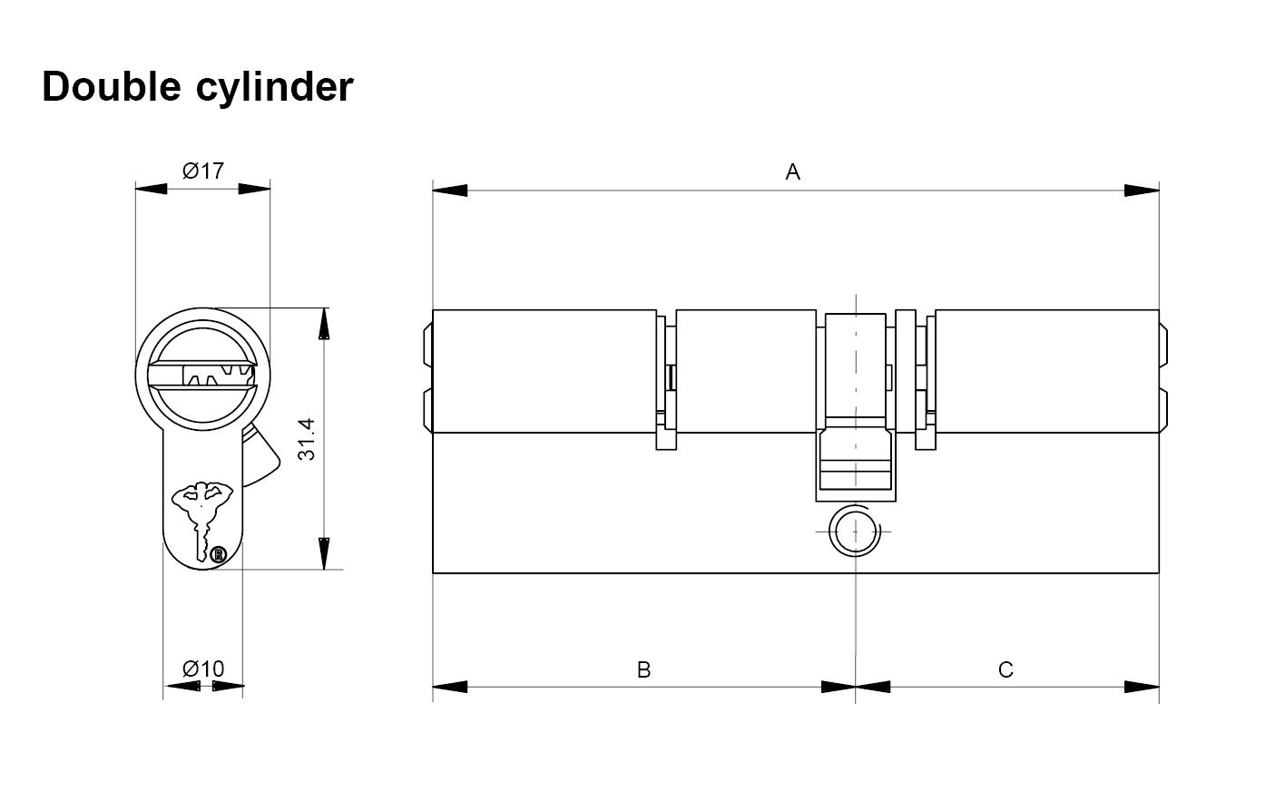 euro cylinder - cylinders - high security, padlock, padlocks ... diagram lock thumbturn  mul-t-lock