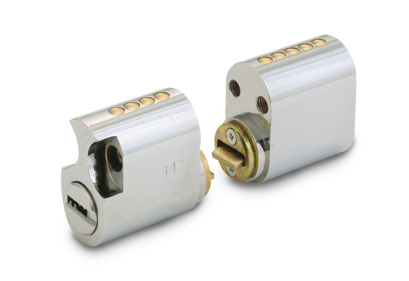 Scandinavian Oval Cylinder For Assa Type Locks